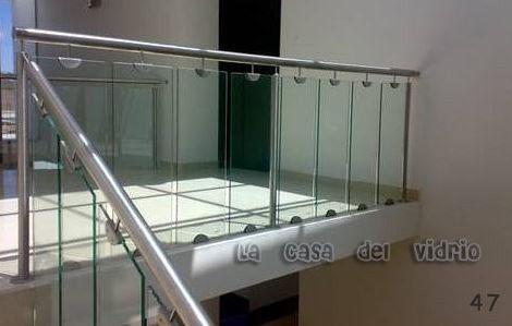 escaleras de cristal tintex Vidrieria y Aluminio en Tlajomulco de